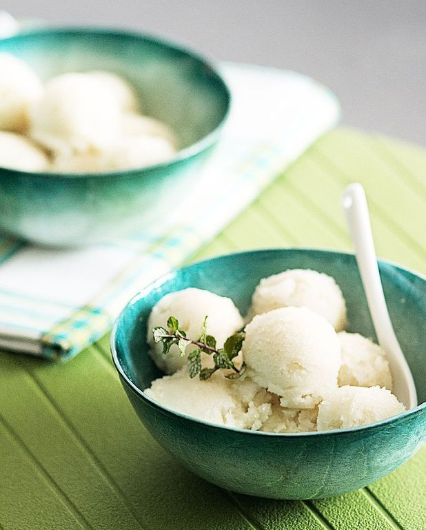 Glace litchi Thermomix