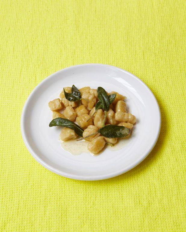 Gnocchis au beurre de sauge