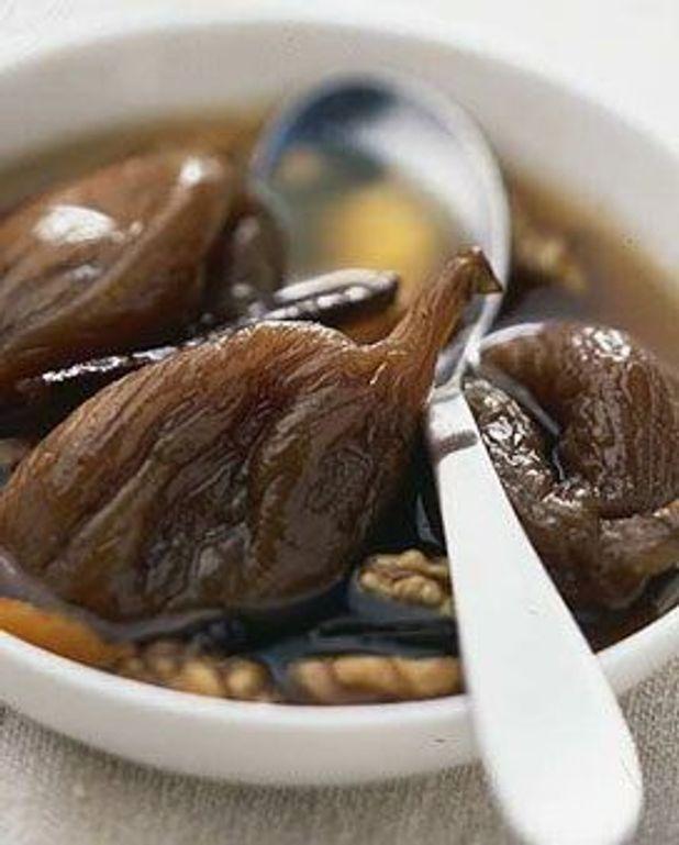 Gourmandise de figues sèches au whisky