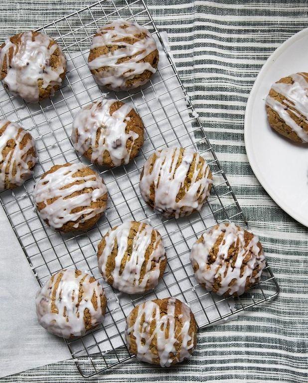 Granola cookies aux flocons d'avoine, noix et graines