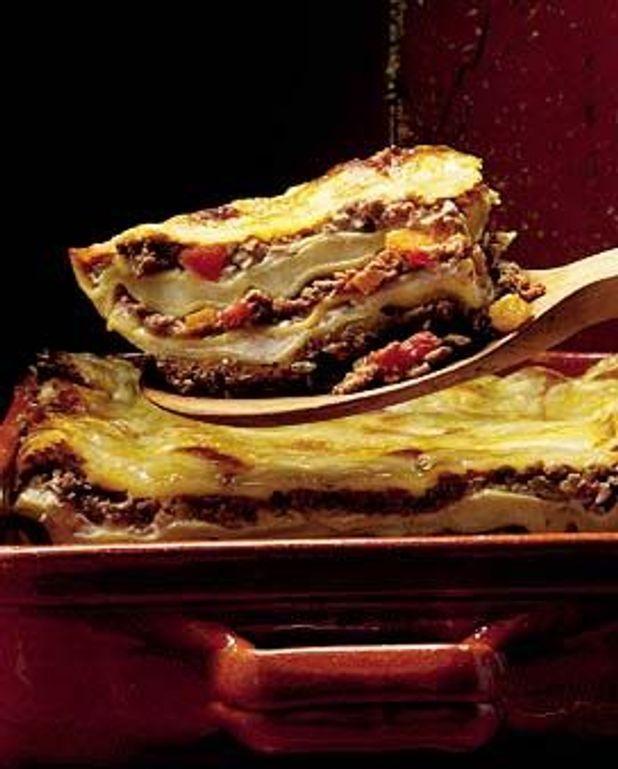 Gratin de lasagnes à la napolitaine