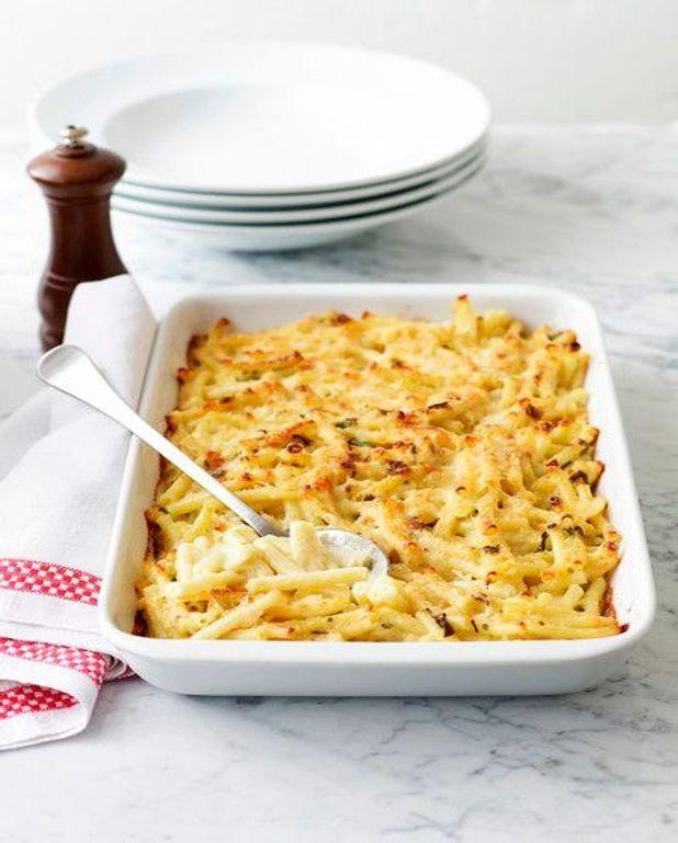 Gratin de macaroni aux 3 fromages