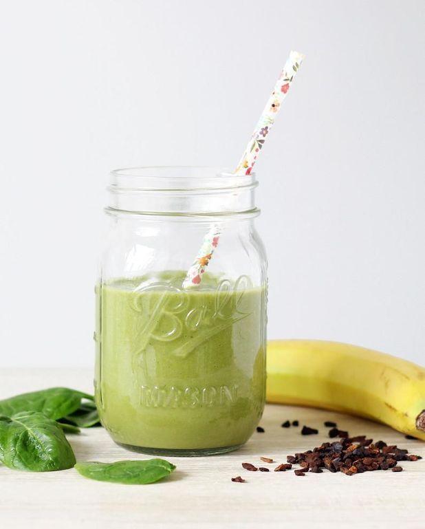 Green smoothie à la chicorée