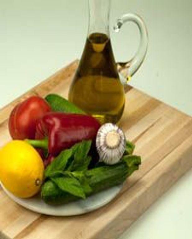 Grillade de légumes à la menthe