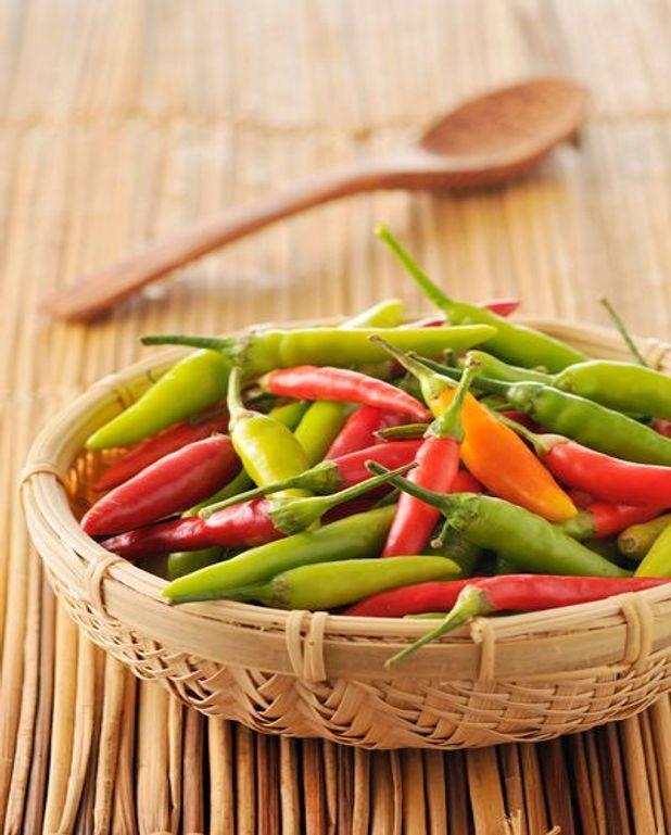 Hachua au piment
