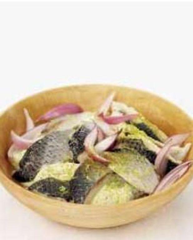 Harengs marinés au curry