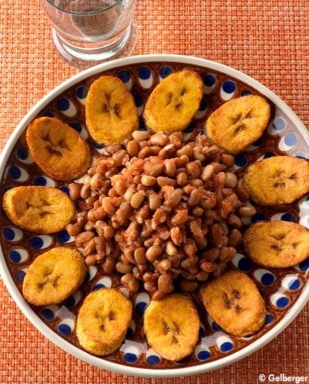 Haricots à la banane plantain