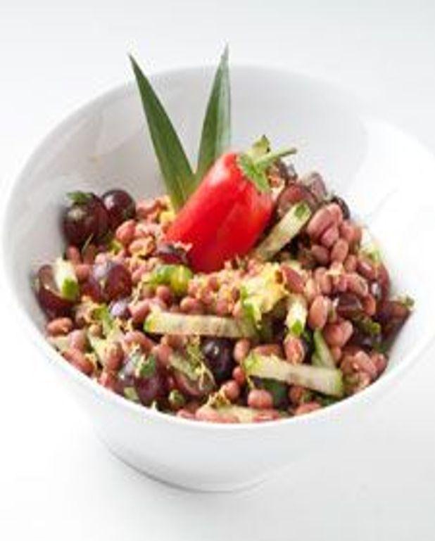 Haricots rouges en salade sucrée