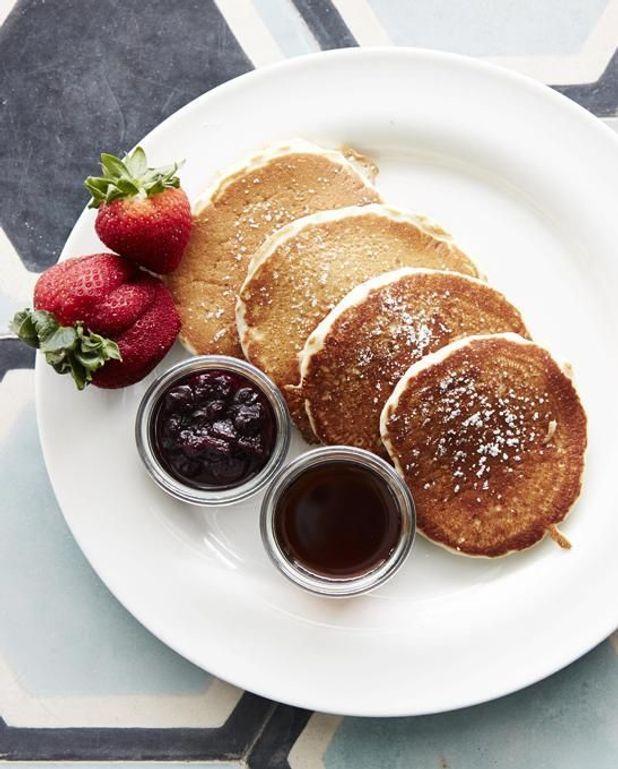 Hotcakes aux myrtilles
