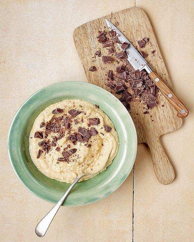 Houmous sucré choco-cacahuète