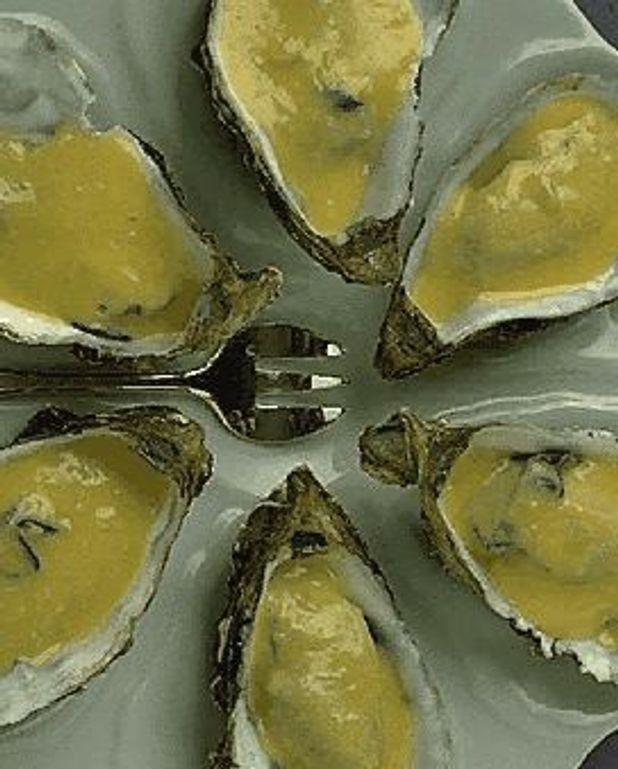 Huîtres au beurre blanc