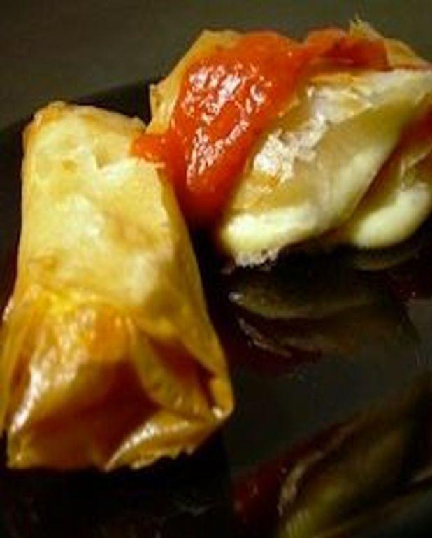 Jambon et fromage en pâte phyllo