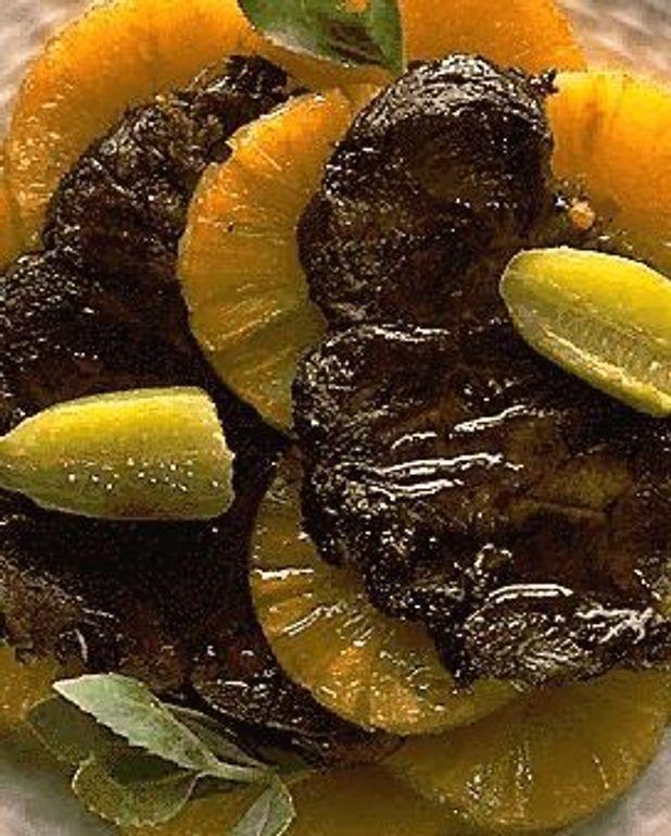 Jarret de boeuf à l'ananas