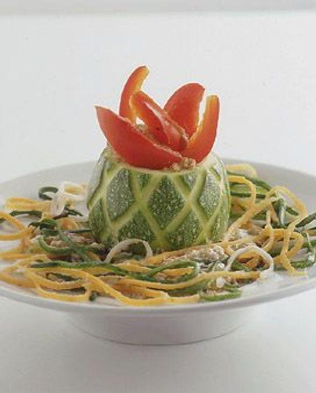 Joker en courgette, spaghettis de légumes