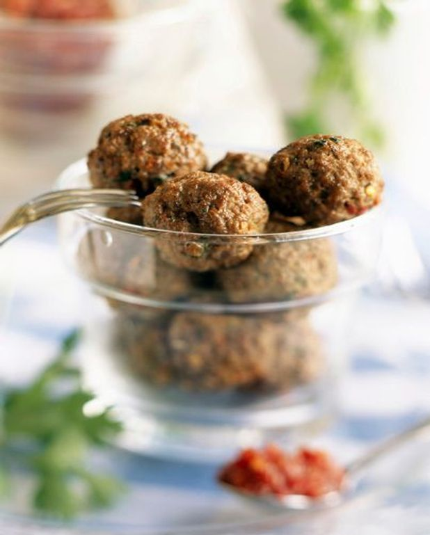 Keftedes (boulettes de viande au citron) (grèce)