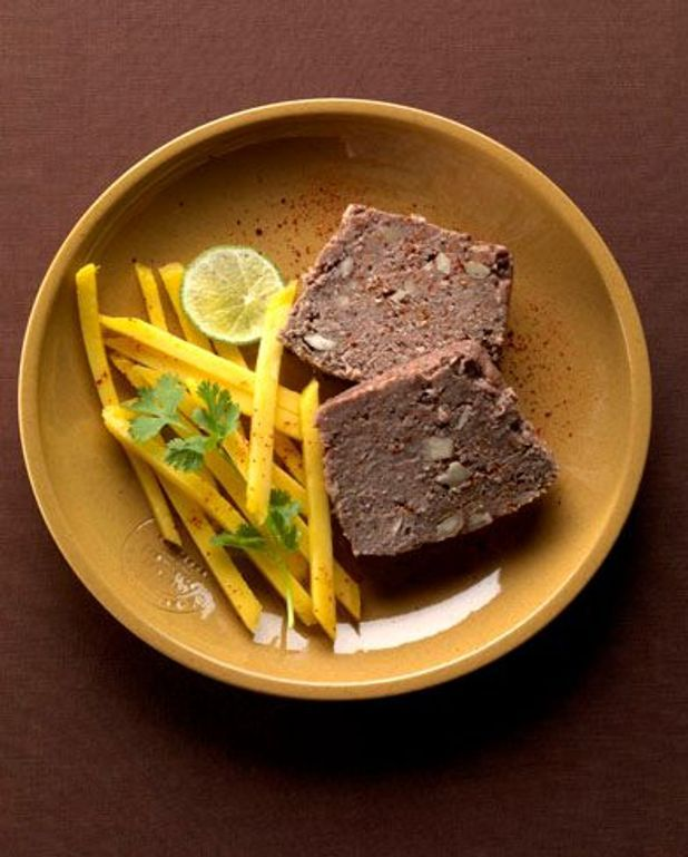 L'exotique : terrine de boeuf curry-coco