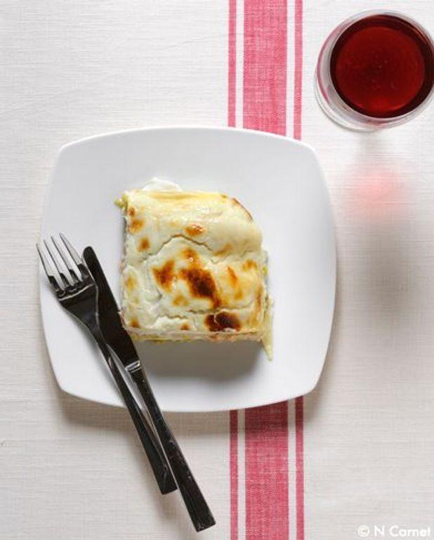 Lasagnes végétariennes courgette aubergine