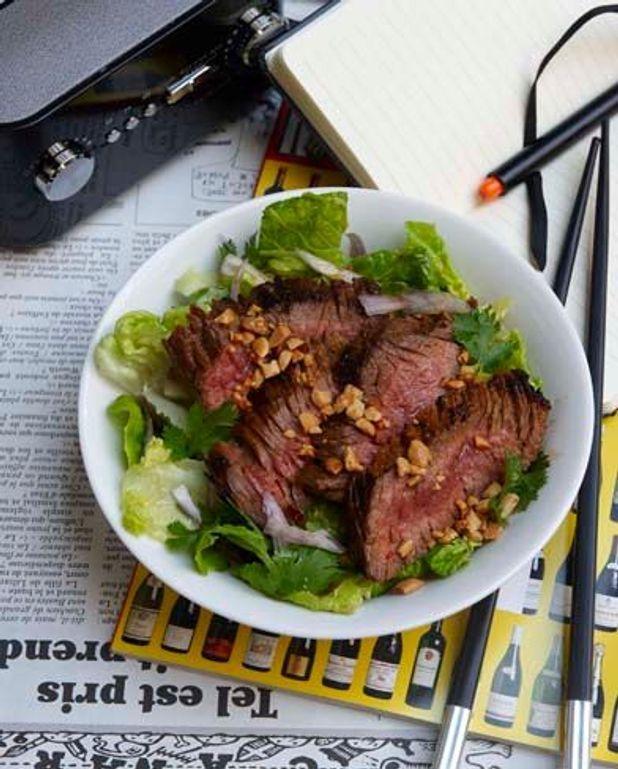 La salade de boeuf thaïe de Nicolas