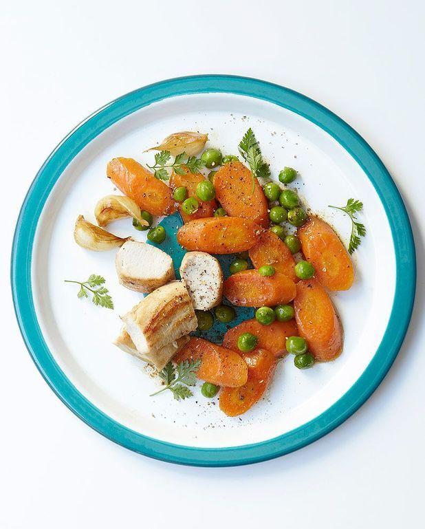 Lapin petits pois-carottes