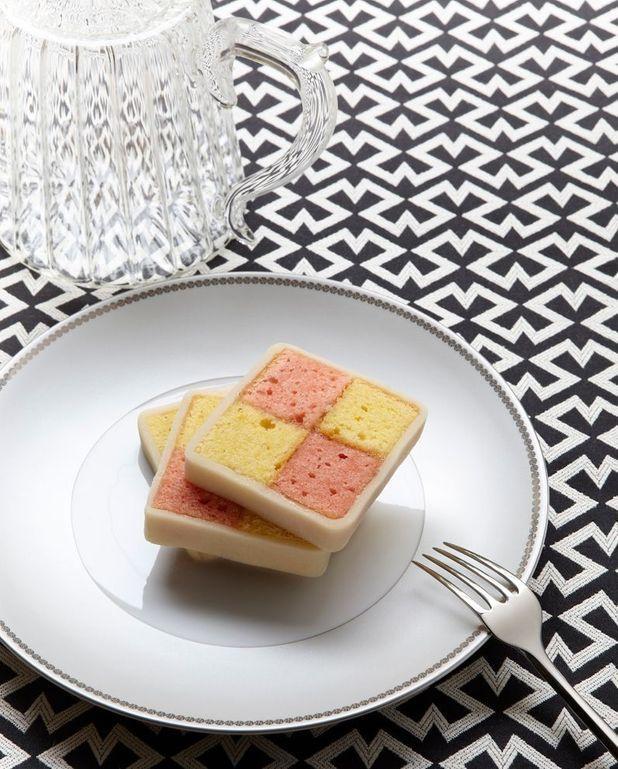 Le battenberg cake de Stephen Webster