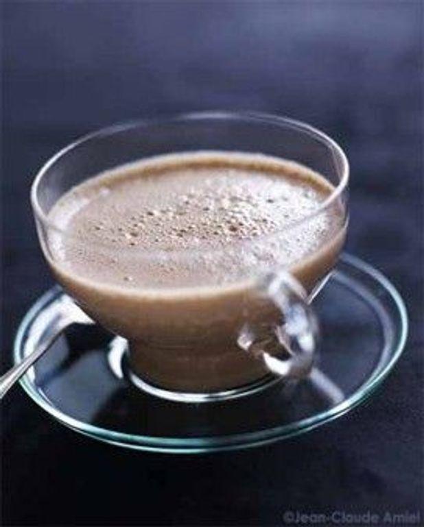 Le chocolat chaud réveille-matin de Thierry