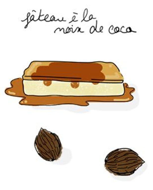 Le gâteau à la noix de coco de Madame Chaigneau