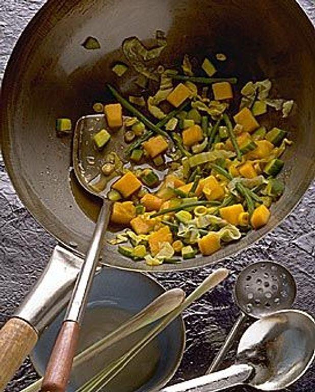 Légumes à la citronnelle