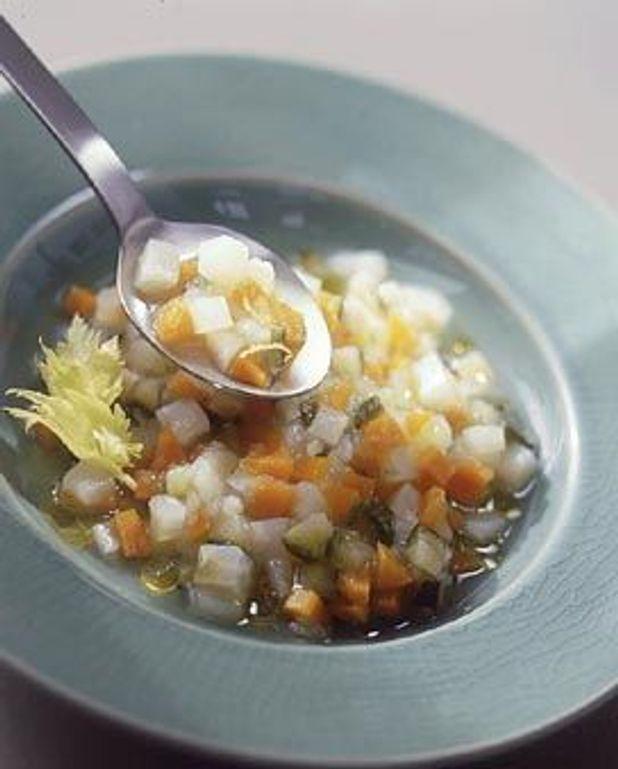 Légumes en citronnette à l'huile d'olive