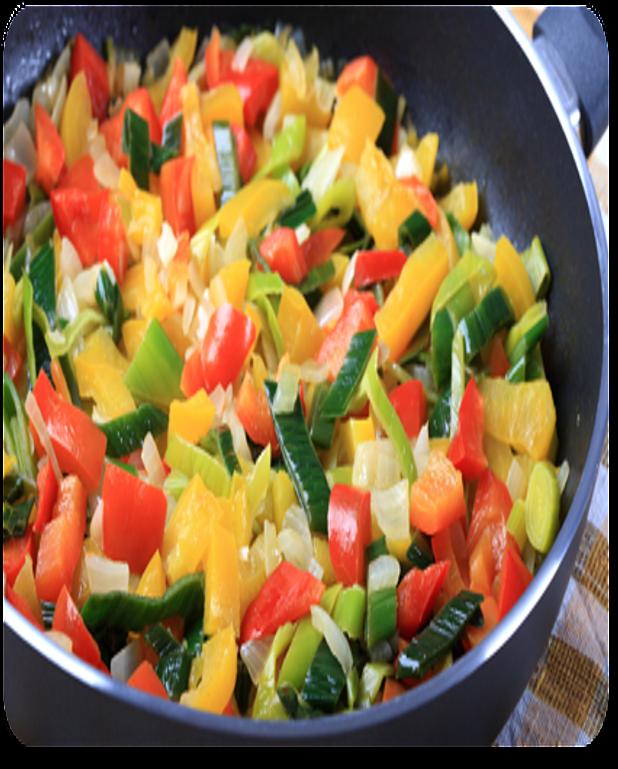 Légumes vapeur à l'huile d'olive