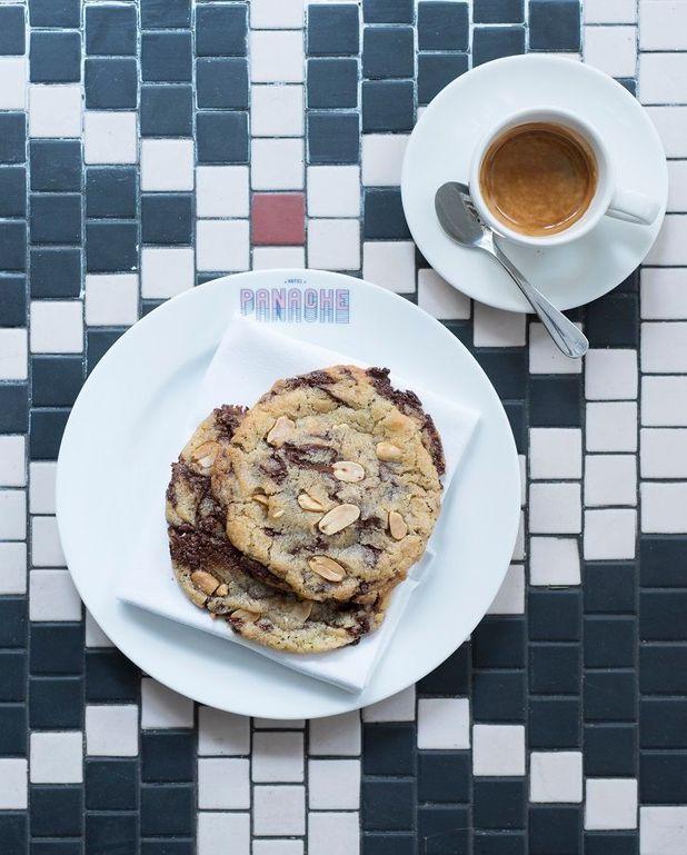 Cookies chocolat et cacahuètes