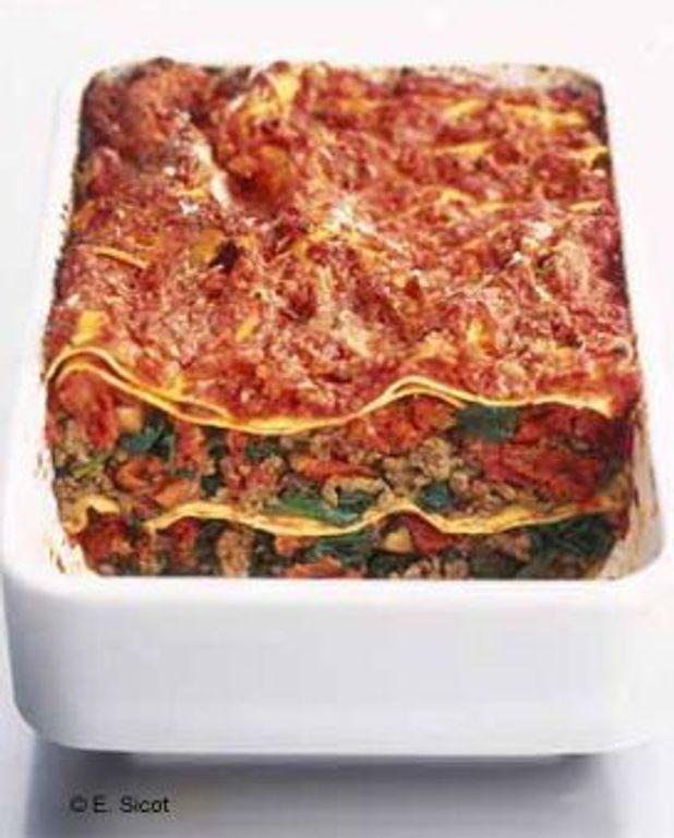 Les lasagnes faciles de ma femme