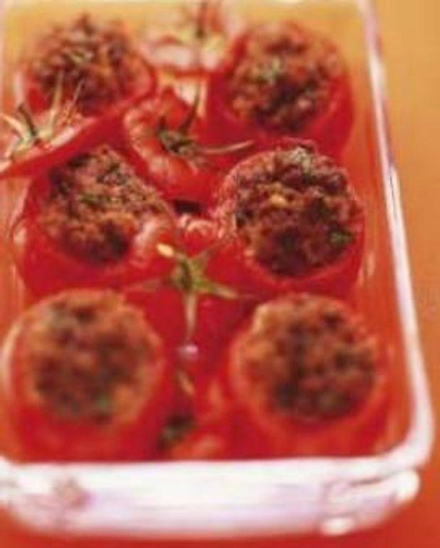 Les tomates farcies « recuites »