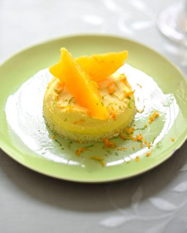 """""""Ma"""" tarte à la crème d'orange"""