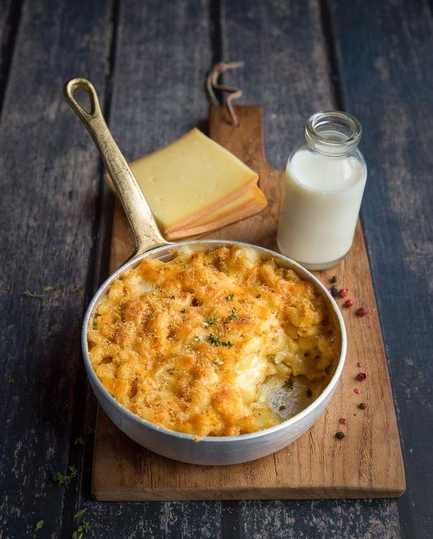 Mac & Cheese à la raclette