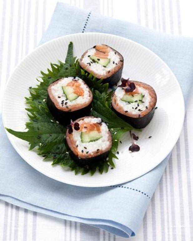 Makis aux deux saumons