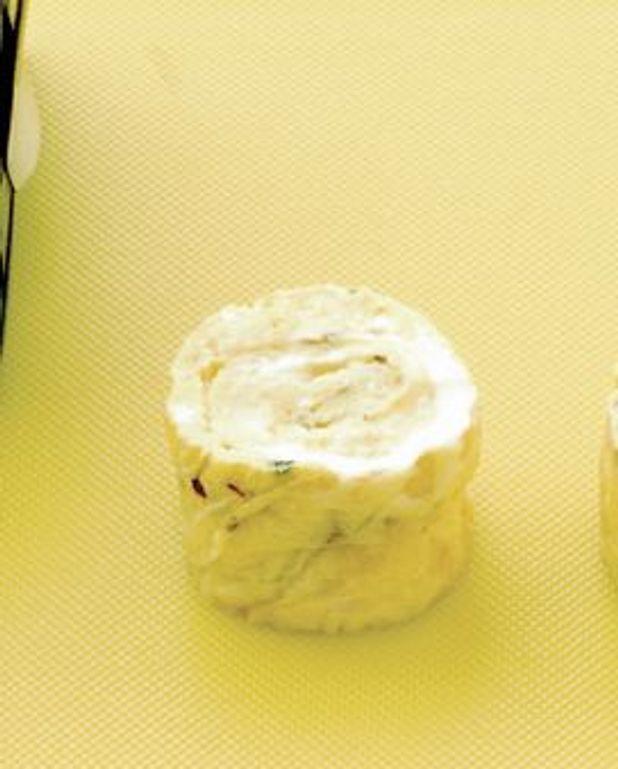 Makis d'omelette à la tomme