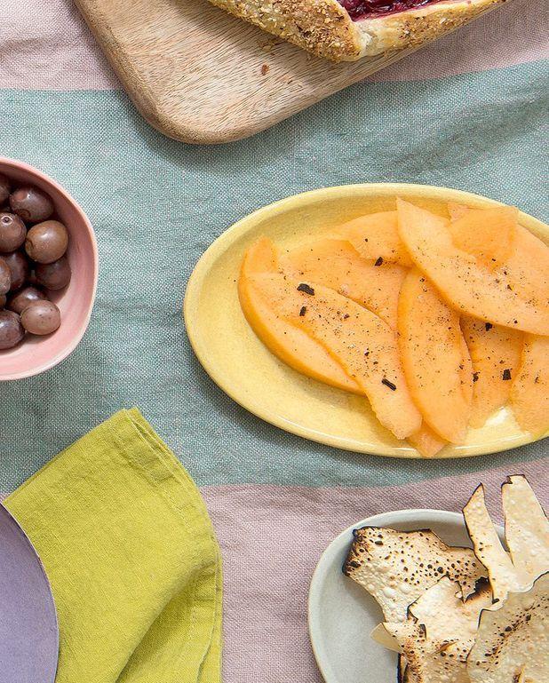Melon au sel de vanille