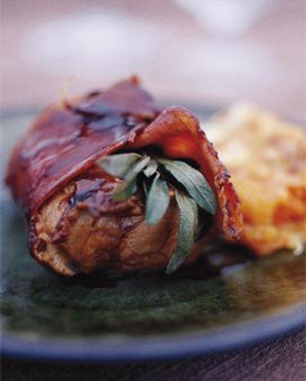 Mignon de porc balsamique au jambon de pays