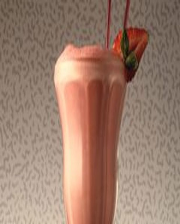 Milkshake au chocolat