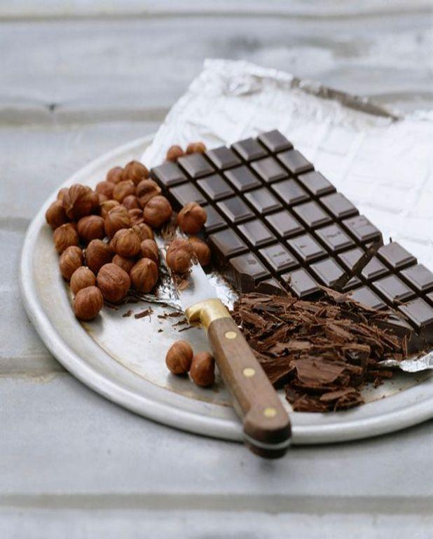 Mille-feuilles au chocolat