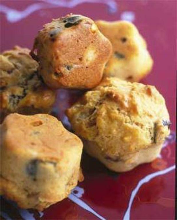 Minicakes à la mozzarella