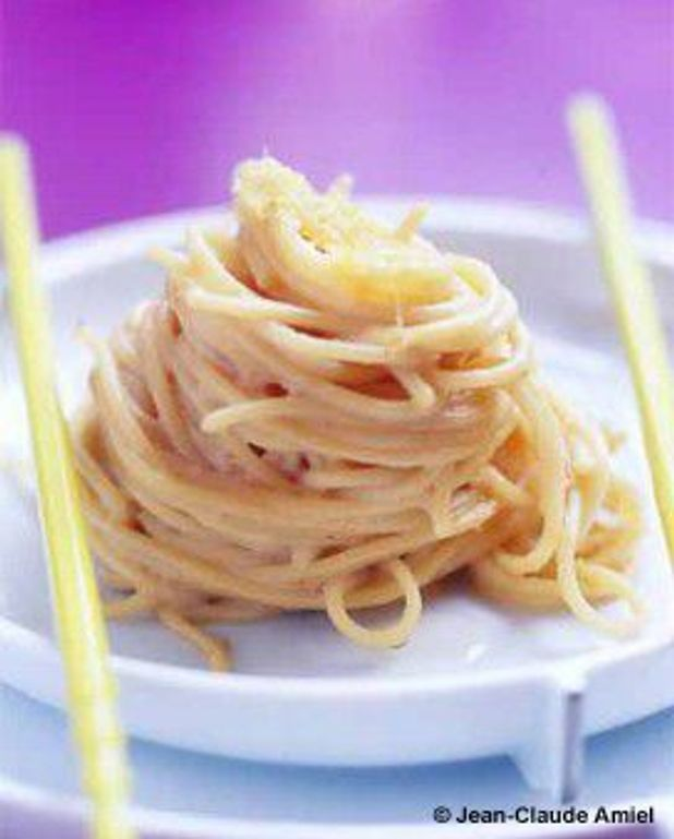 Minute de spaghettis au maitenko