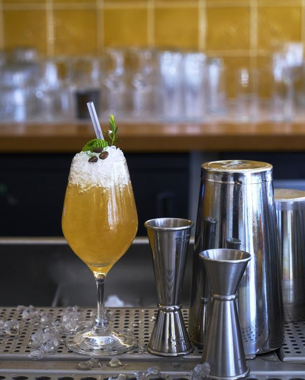 Mocktail Pirou kiwi et café