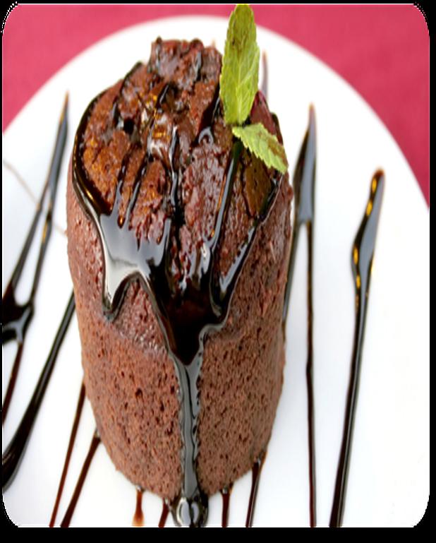Moelleux au chocolat express et light
