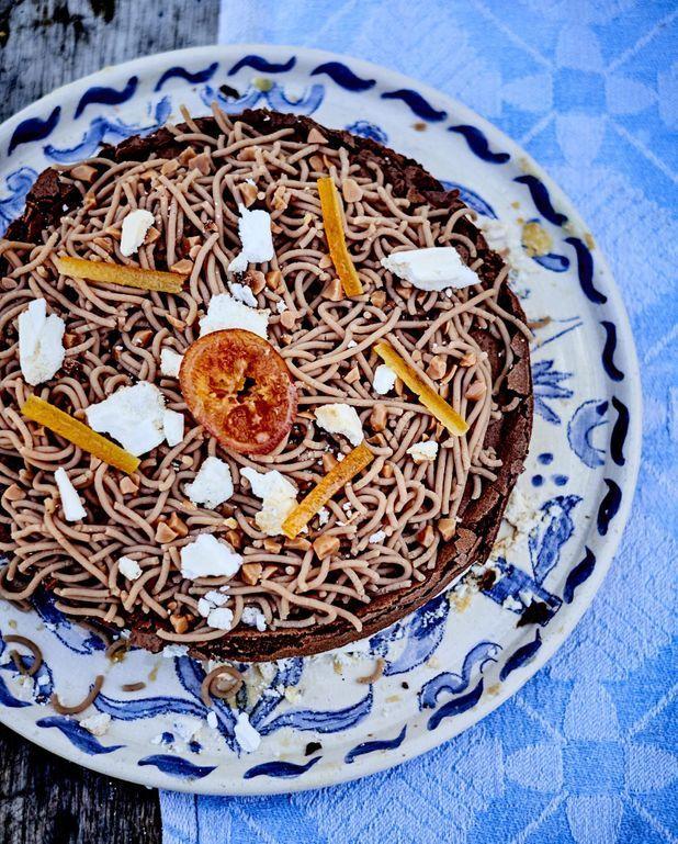 Mont-blanc chocolat et châtaignes