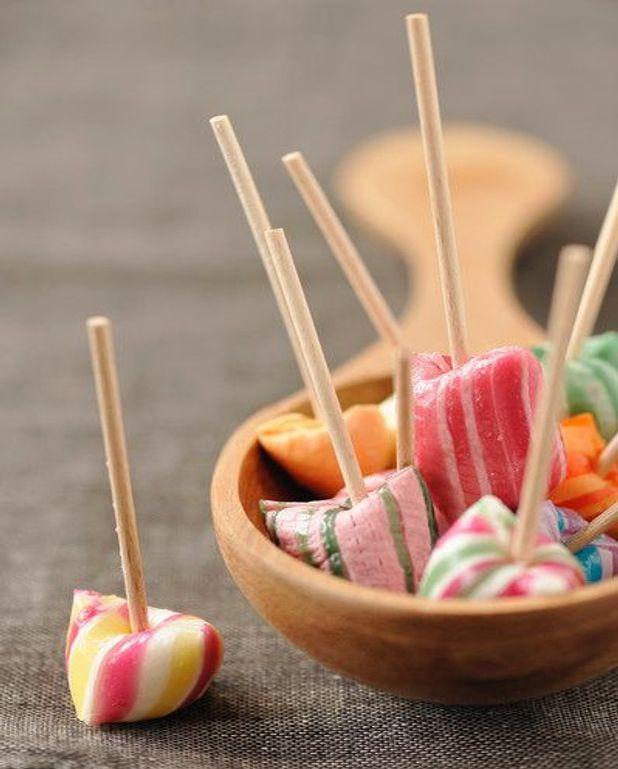 Mousse glacée aux bonbons