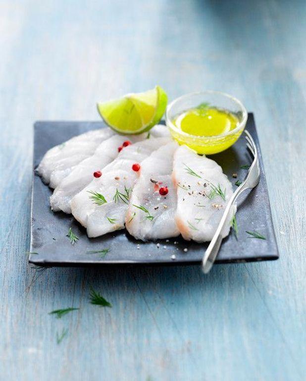 Mousseline de poisson au beurre rouge
