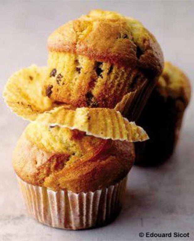 Muffins à l'orange et au chocolat de Natacha