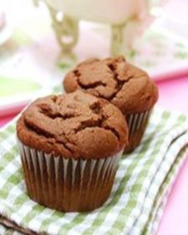 Muffins à la crème au chocolat