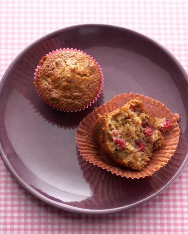 Muffins au lait ribot et airelles